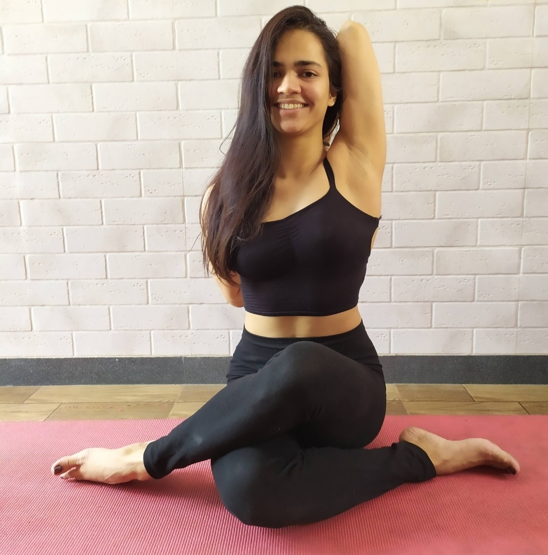 Authentic ashtanga yoga with Aarohi