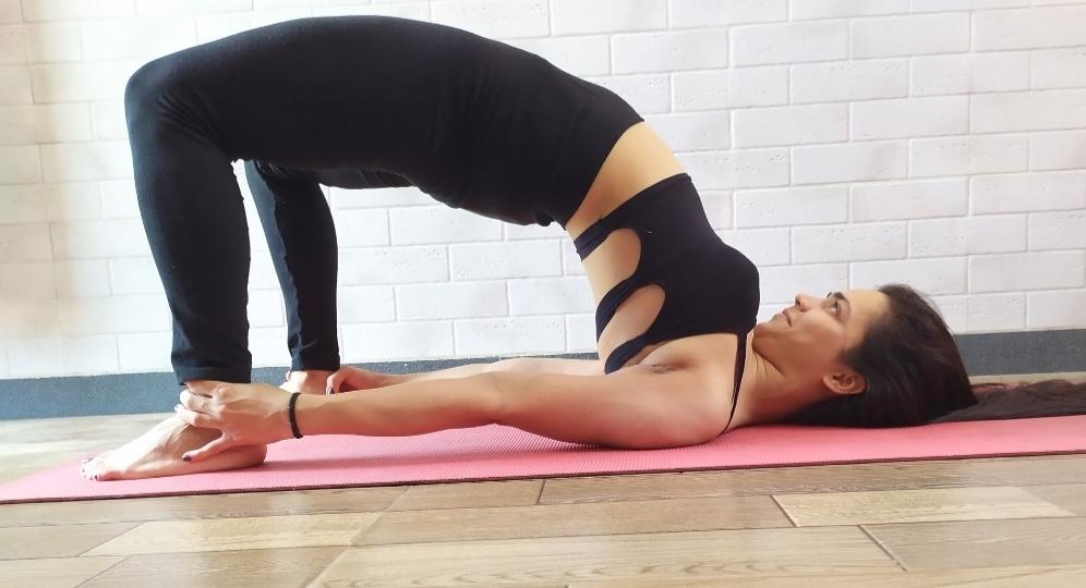 Ashtanga yoga with Aarohi
